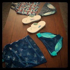 Girl.bathing suit bundle